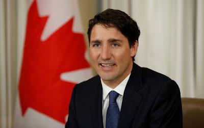 Resultado de imagem para O primeiro-ministro do Canadá, Justin Trudeau,