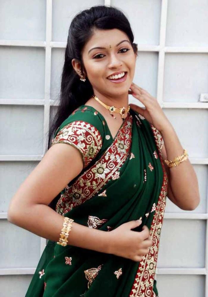 Hot Actress Gallery Actress Prathista Hot In Saree Stills