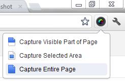 Tips Mudah Membuat Screenshot Halaman Website 3