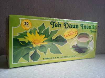 Jual Teh Celup Daun Insulin di Kota Surabaya