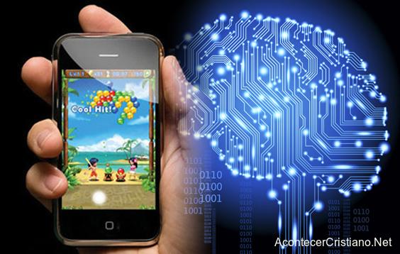 Celular táctil daña el cerebro