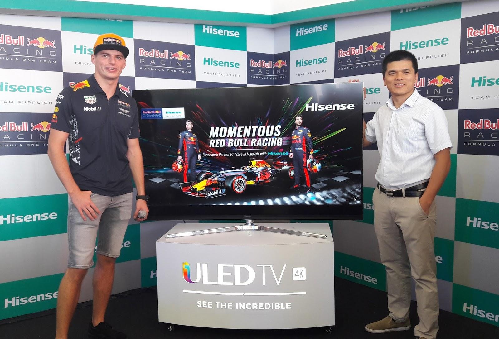 Hisense Malaysia Showcase The Hisense 4k Uled Tv 65 Series 8 At The