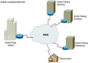 pengertian jaringan computer WAN