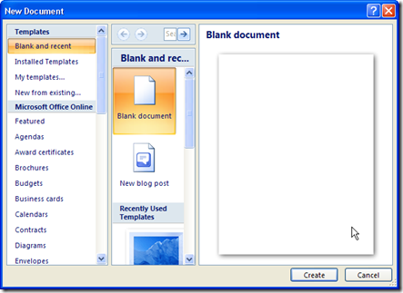Cara Membuat Template di Ms Word