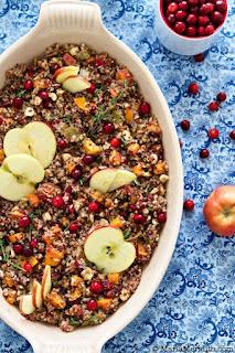 vegan quinoa stuffing