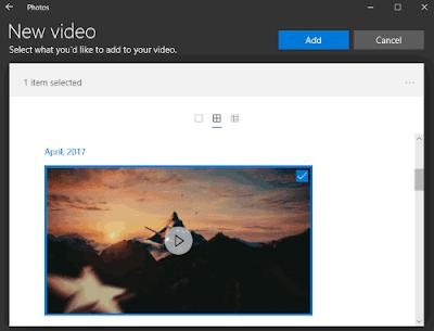 Cara Edit Video Menggunakan Aplikasi Foto di Windows 10-3