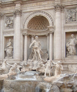 Rome's Trevi Fountain is the largest Baroque fountain in the city