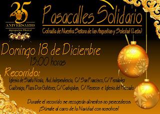 Pasacalles Solidario Agrupacion Angustias y Soledad