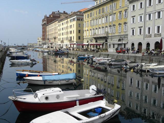 canale di Ponterosso a Trieste