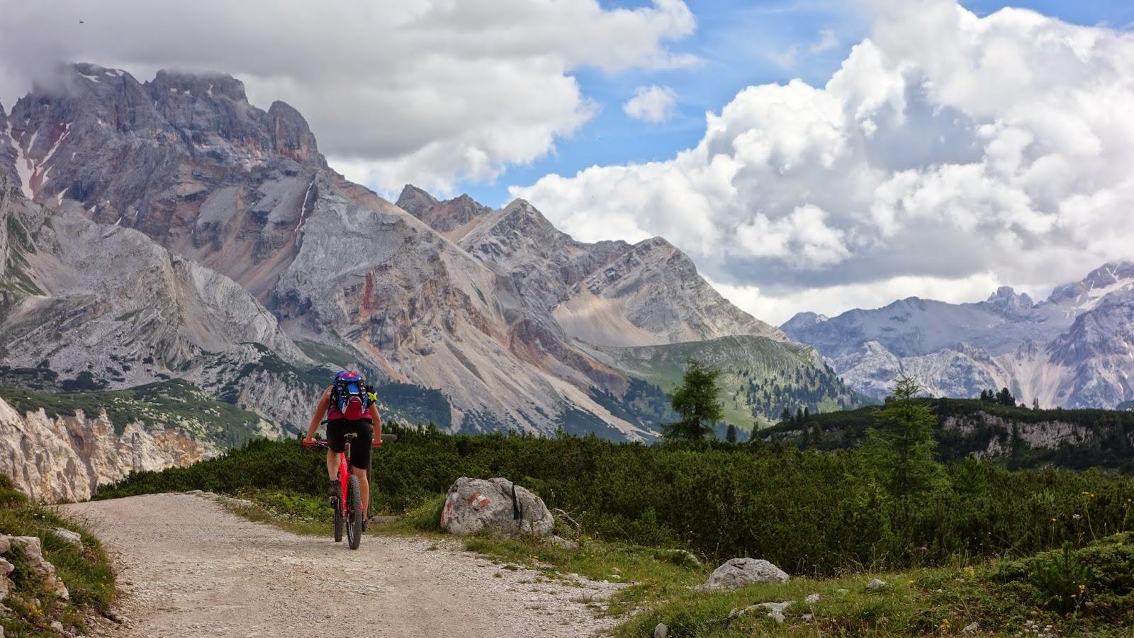 dolomiten mtb tour Mountainbike Tour: Sennes Seitenbachscharte MTB