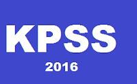 2016 kpss sınav sonucu sonuçları