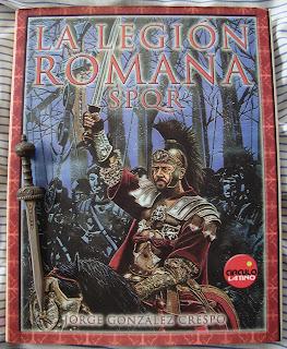 Portada del libro La legión romana, de Jorge González Crespo