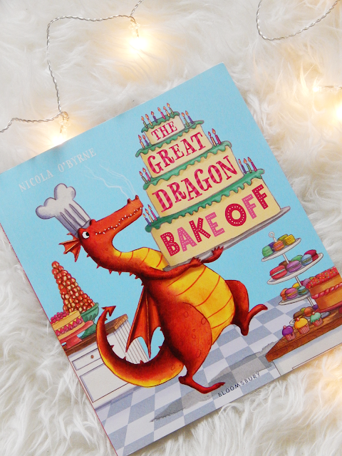 The Great Dragon Bake Off Book Review | sprinkledpages