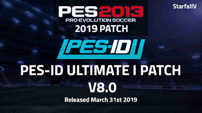 PES 2013 PES-ID Ultimate Patch v8.0 AIO FINAL Season 2018/2019