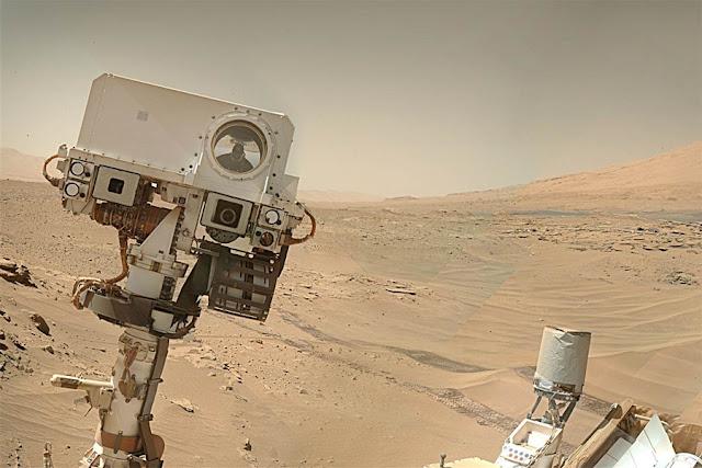 Curiosity selfie- NASA