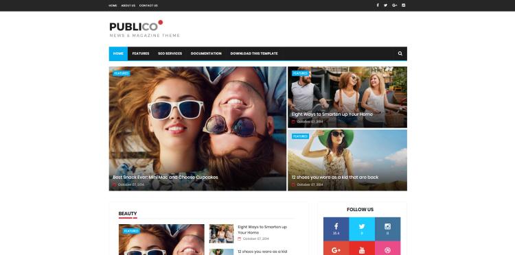 publico blogger template