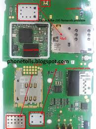 Nokia Asha-200 No Network Problem mobile repairing - Phonetolls