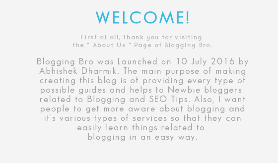 About-Blogging-Bro