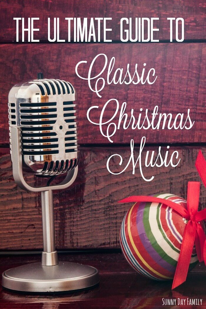 The Ultimate Guide to Classic Christmas Music! The only Christmas music playlist you need - filled with classic Christmas songs by the all time great artists. Totally family friendly too!