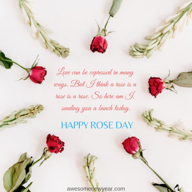 Happy Rose Day  Wishes for boyfriend