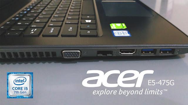Review Gaming Dengan Laptop Acer E5-475G