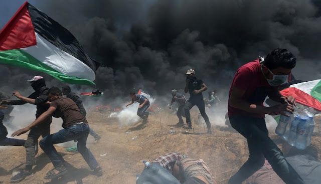 Senjata Baru Israel untuk Bubarkan Demonstran Gaza: Kotoran!