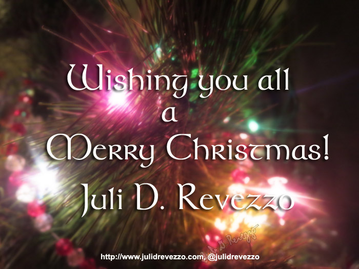 Christmas 2016 wishes by Juli D. Revezzo, photo copyright Juli D. Revezzo