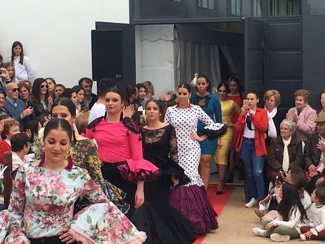 Desfile de moda, Feria del Espárrago en Alcalá del Valle
