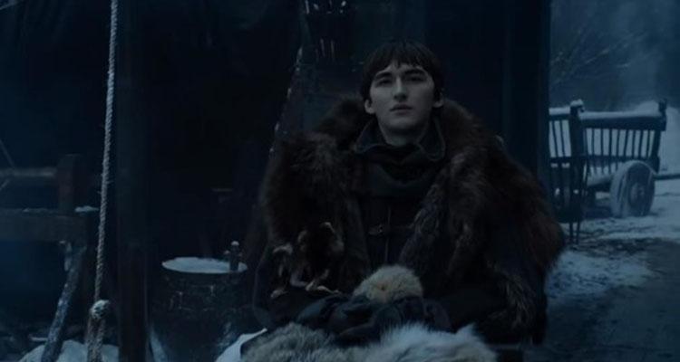 Juego de Tronos 8x01: Bran observa la llegada de Jaime Lannister a Invernalia