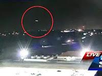 UFO Tertangkap Siaran Berita Pagi