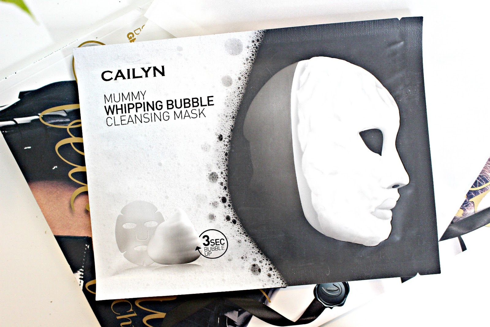 Cailyn Cosmetics Mummy Whipping Bubble Cleansing Mask