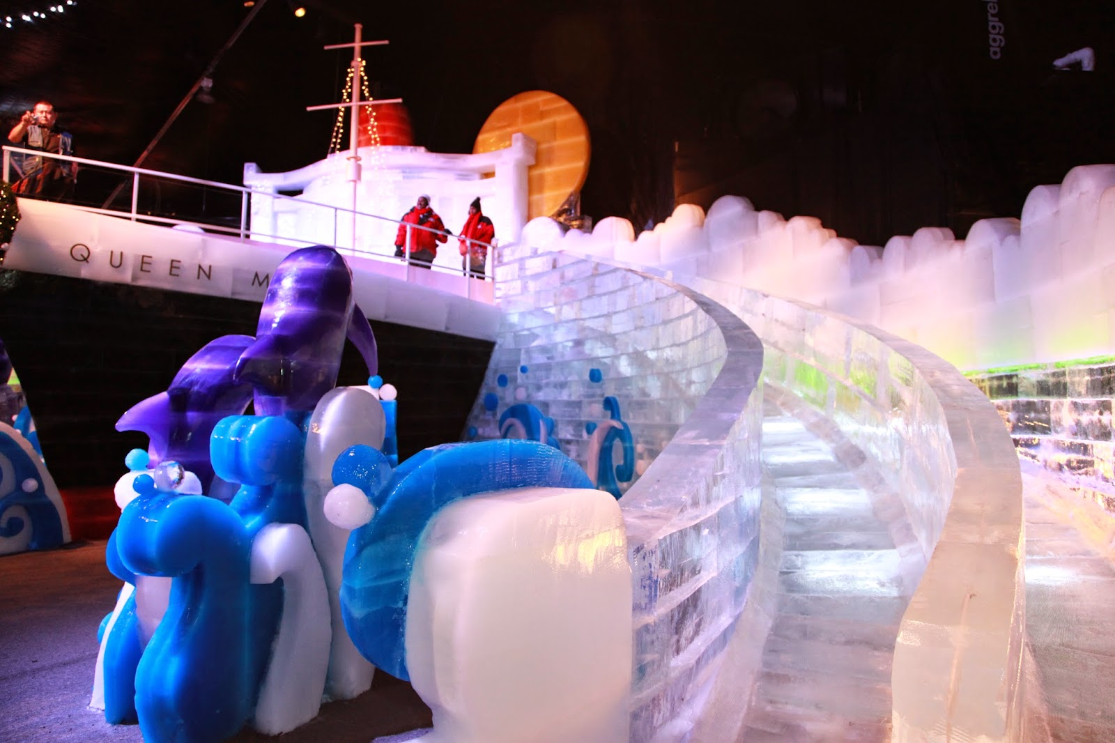 An Experience Like No Other Chill Transforms Over Two Million Pounds Of Sparkling Ice Into Larger Than Life Hand Carved Colorful Sculptures In The