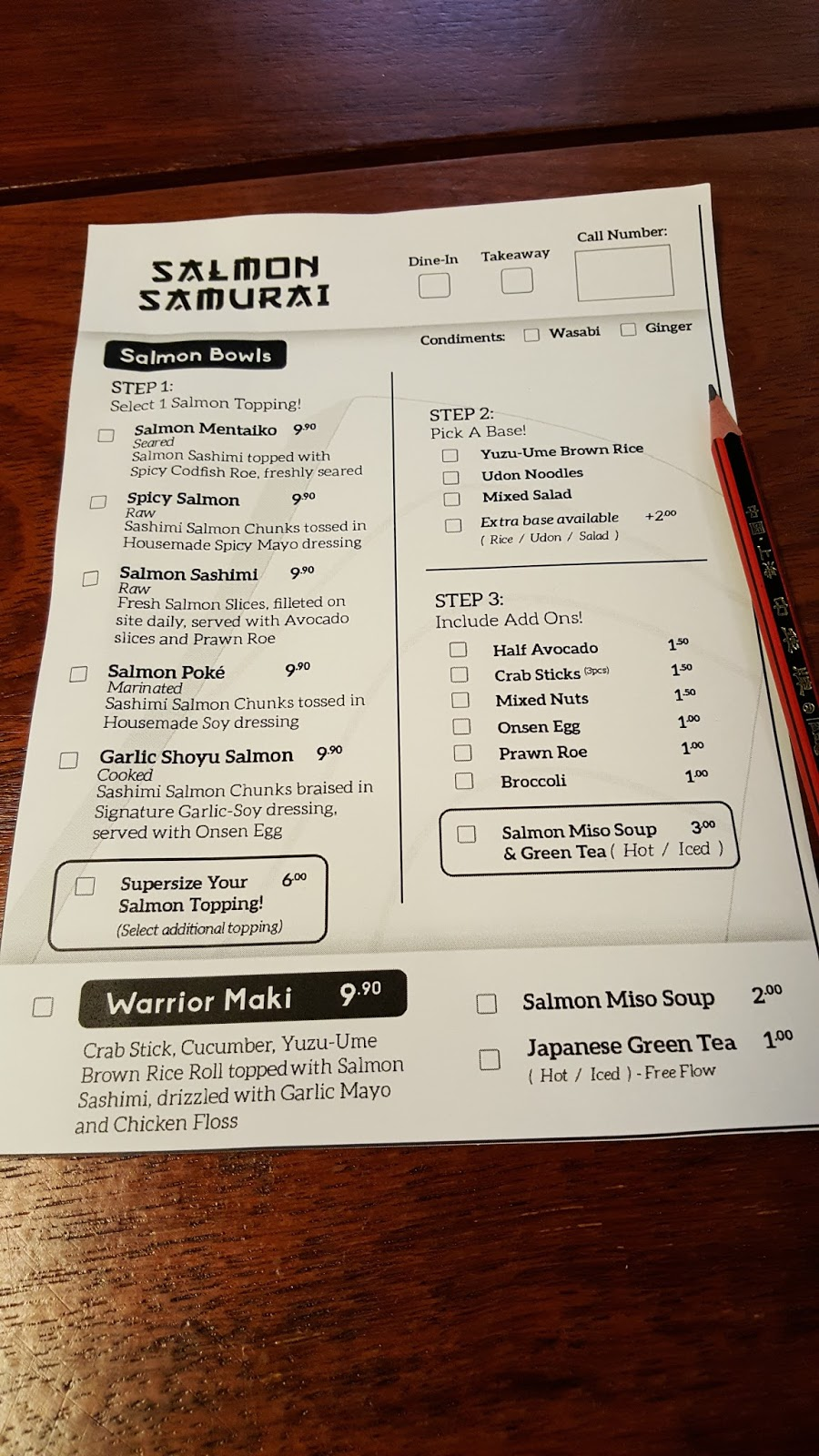 Salmon Samurai Build Your Own Salmon Donburi At Only 9 90