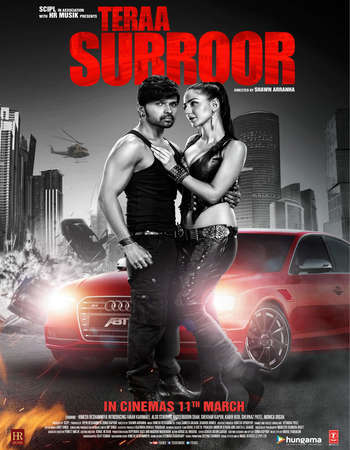 Poster Of Teraa Surroor 2016 Hindi 720p DVDRip ESubs Watch Online Free Download Worldfree4u