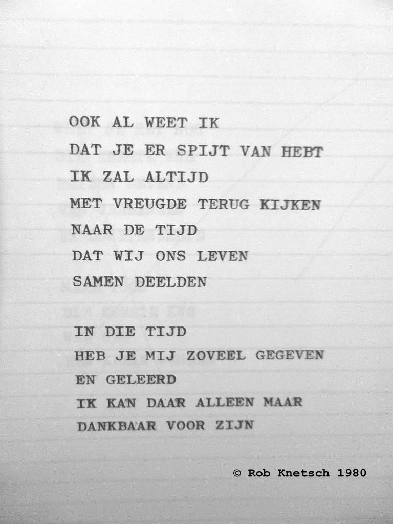 Of Turmoil And Quest Gedicht Dank Door Rob Knetsch