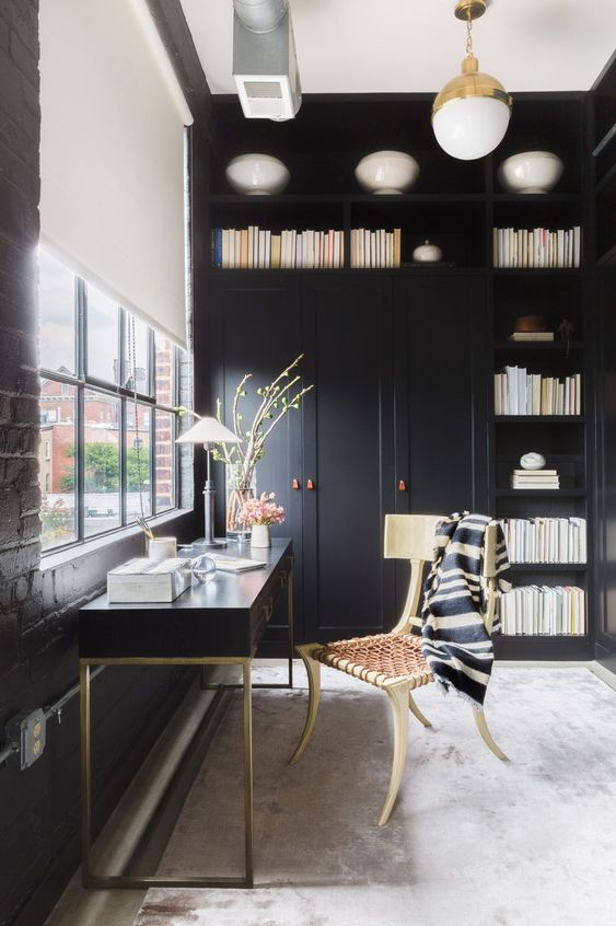 Looking for a restful house to abide by yourself immersed inwards thirty Best Interior Designs With Dark Colors Combinations