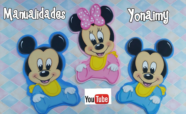 Yonaimy Moldes Mickey Mouse Imgurl