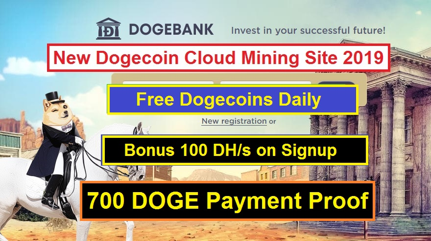 Dogebank io Review : Legit or Scam | Free Dogecoin Cloud