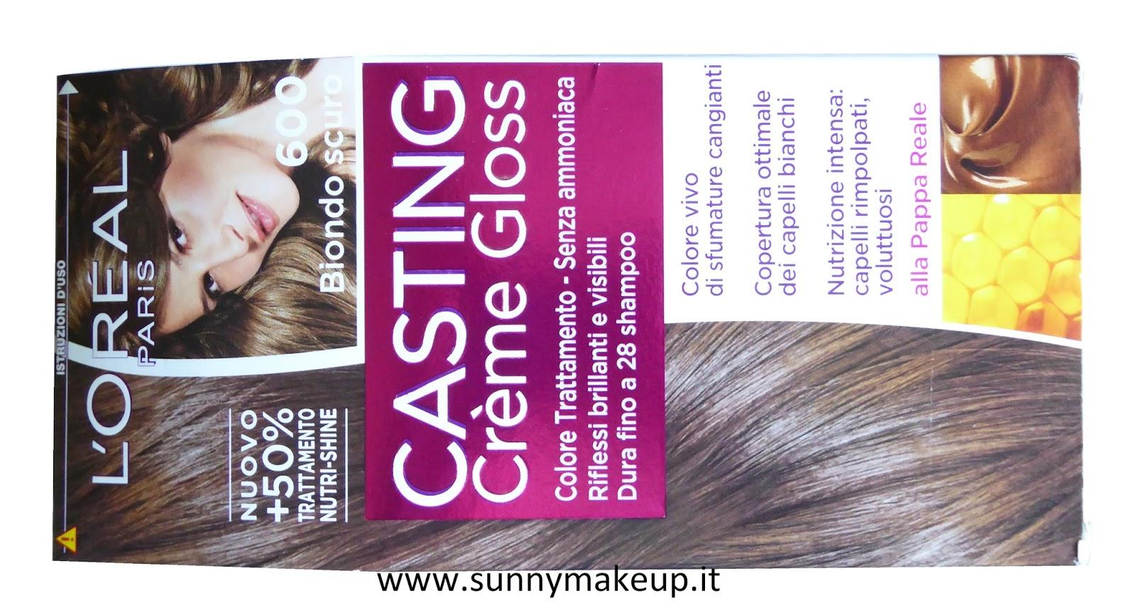 L'Oreal Paris - Casting Crème Gloss Colorazione per capelli. 600 Biondo Scuro.