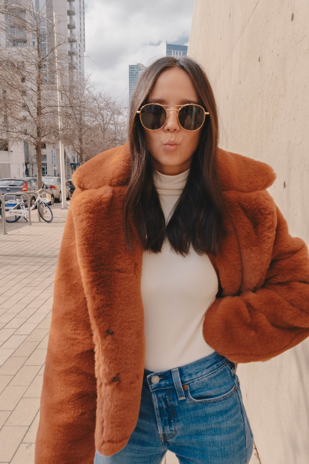 Neutral Valentine's Day Outfit