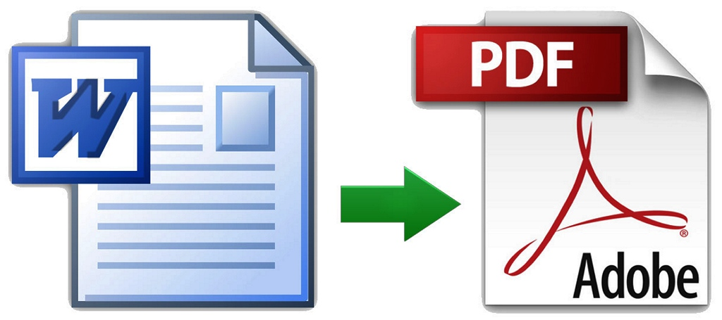 como pasar un word a pdf
