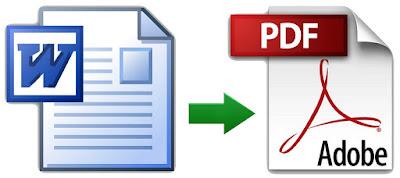 Iconos de formatos de archivo Word y PDF de las aplicaciones Microsoft Office y Adobe Reader