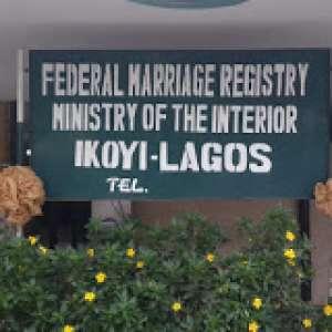 Ikoyi Registry Marriage