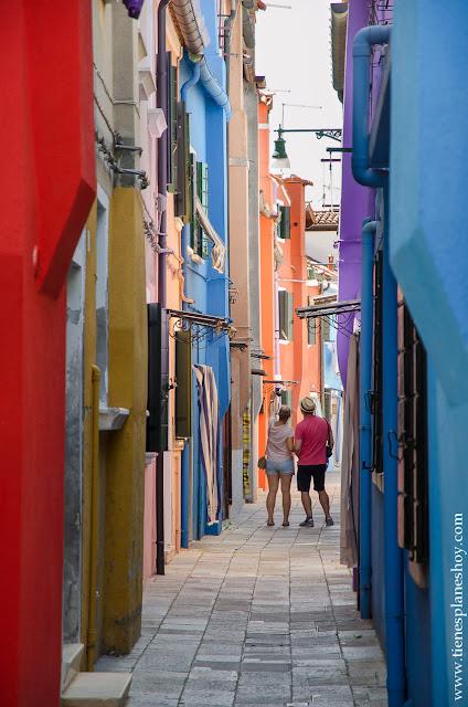 Viaje 15 días Italia Burano