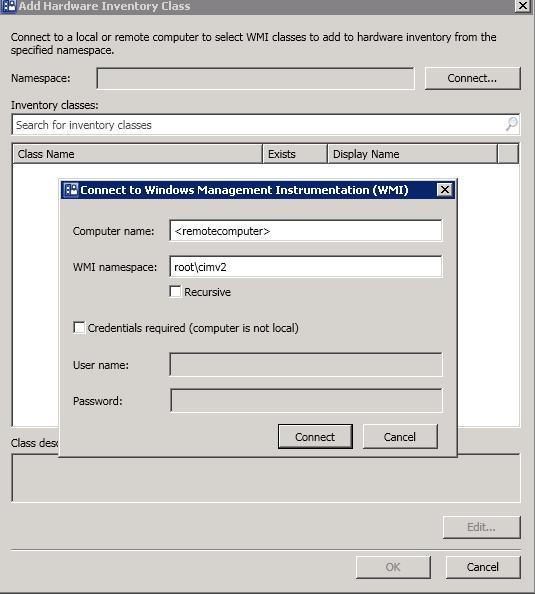 IT Evangelist: SCCM 2012 – Customize / Extend Hardware Inventory