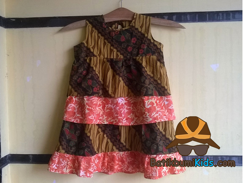 Dress Batik Anak Lulu Parang Series