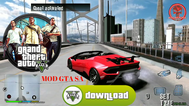 Download GTA 5 Mod GTA SA Offline Best Graphics Download