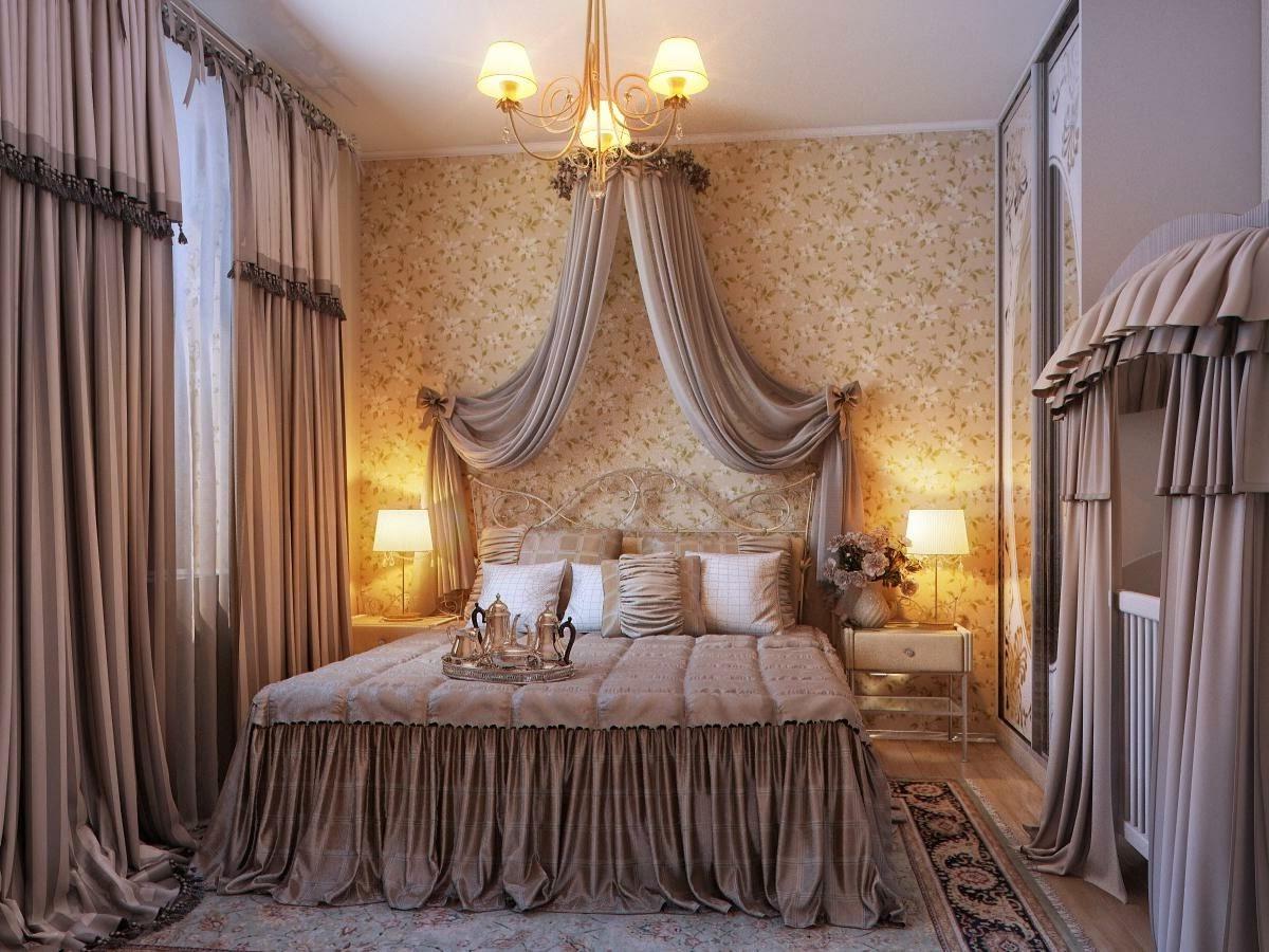dormitorio matrimonial romántico
