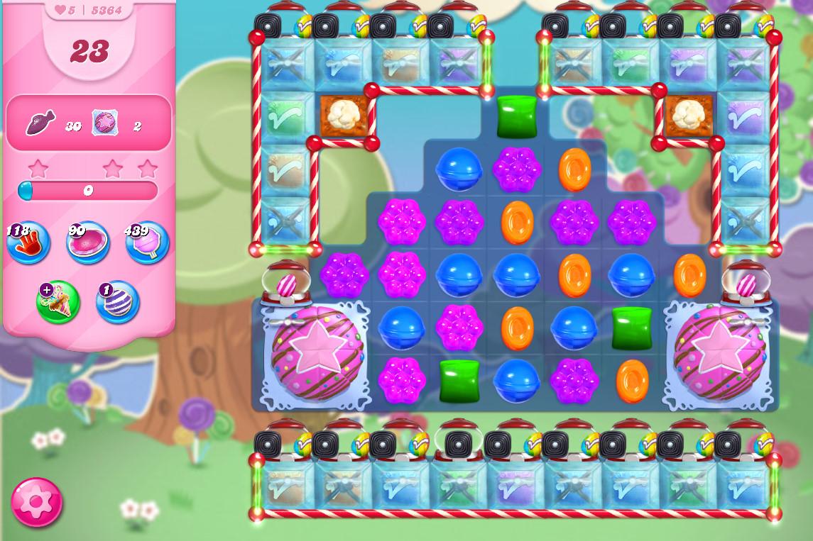 Candy Crush Saga level 5364