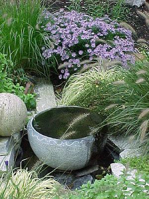garden fountain design - disain air mancur taman cantik